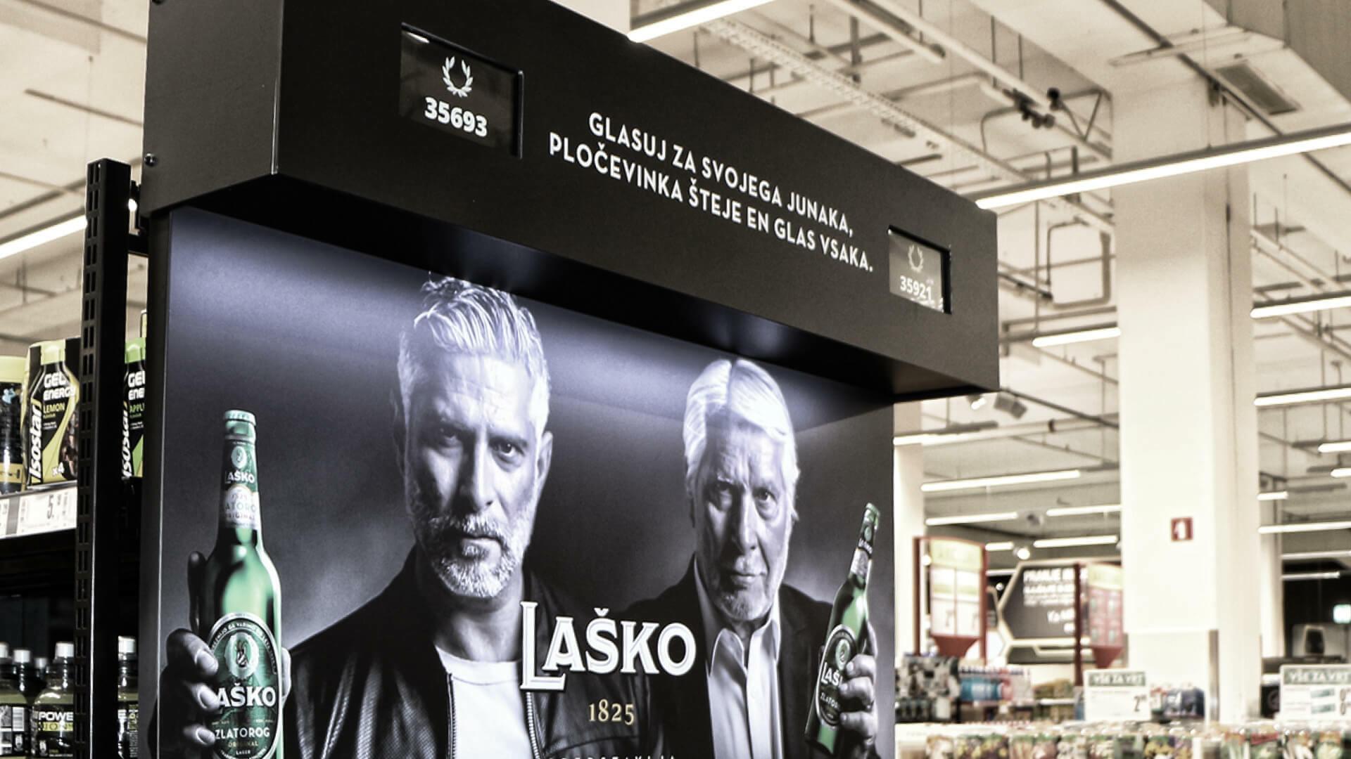 Laško - Dvoboj na prodajnih policah